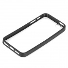 Protective TPU + PC Back Case for Iphone 5 - Black + Transparent