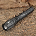 UltraFire T-11 Cree XM-L T6 950lm 5-Mode White Zooming Flashlight - Black (2 x 18650)