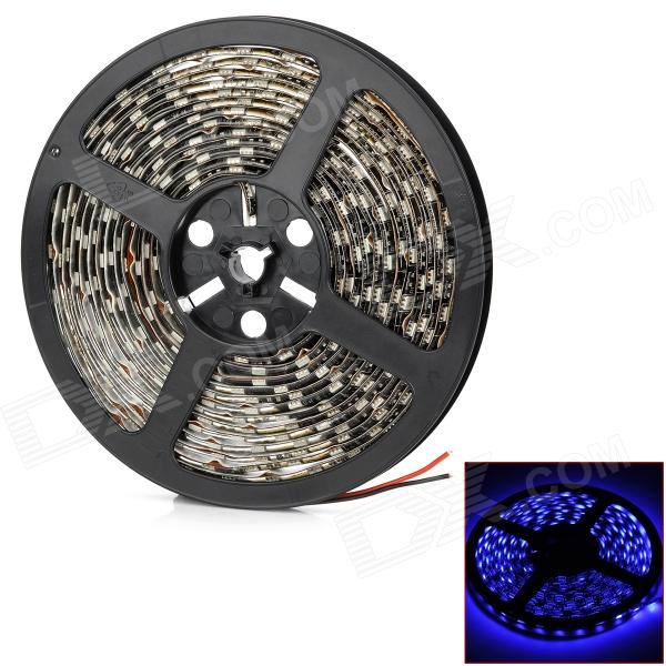 Waterproof 90W 3000lm 300-SMD 5050 LED Blue Light Car Decoration Strip (12V / 500cm) - DX5050 SMD Strips<br>Model LY115 Quantity 1 piece(s) Color Black + White Material Soft plastic Emitter Type 5050 SMD LED Chip Type Other Total Emitters 300 Light Color Blue Input Voltage 12 V Power 90 W Luminous Flux 3000 lm Wavelength 490-450 nm Connector Type Wire connection Waterproof Yes Waterproof Rate IP66 Application Decoration light Packing List 1 x LED strip<br>