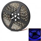 Waterproof 90W 3000lm 300-SMD 5050 LED Blue Light Car Decoration Strip (12V / 500cm)