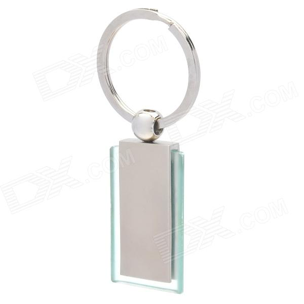 Zinc Alloy Nameplate Keychain - Silver motorcycle zinc alloy keychain silver