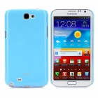 Protective Luminuous Plastic Back Case for Samsung Galaxy Note II N7100 - Blue