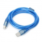 USB 2.0 AM-BM Printer Cable - Blue (1.5M-Length)