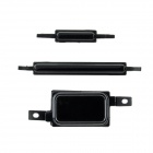 Replacement Volume / Power Switch / Home Button for Samsung i9100- Black (3 PCS)