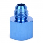 ZJT-1Z Aluminum Alloy 8 to 6 Thread Oil Cooler Adapter - Blue
