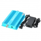 Aluminum Alloy 890~915MHz / 935~960MHz GSM Cellphone Signal Repeater Booster Amplifier - Blue (70dB)
