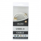 Super Speed USB 3.0 Male to Female Extension Cable - White
