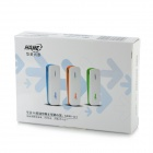 HAME MPR-A1 Wi-Fi 802.11b/g/n Wireless 3G Router w/ 1800mAh Battery Charger Dongle - White + Blue