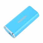 NOHON 4400mAh Portable External Battery for Samsung i9300 / Sony LT29i / iPhone 4 + More - Blue