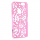 Stylish Newtons Hollow Rose Pattern Protective PC Back Cover Case for Iphone 5 - Pink