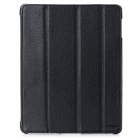 Protective PU Leather Case for iPad 2 / 3 / 4 - Black