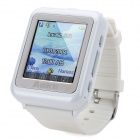 "AoKe 09 GSM Watch Phone w/ 1.4"" Resistive Screen, Triple-Band, Single-SIM and FM - White"