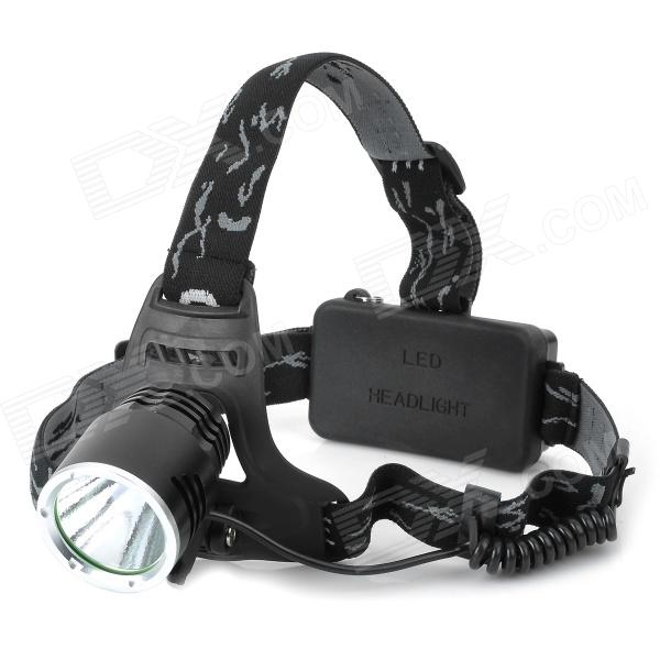 068C 680lm 3-Mode White Headlamp - Black (1 x 18650 / 2 x 18650)