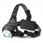 068C Cree XM-L T6 680lm 3-Mode White Headlamp - Black (1 x 18650 / 2 x 18650)