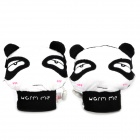 e-warmer Cute Panda USB Heated Wrist Warm Gloves for Ladies - Black + White (Pair)