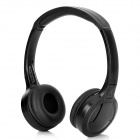 LB300 Wireless Bluetooth V3.0 Stereo Headset Headphones for iPhone / Cellphone + More - Black