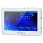 "ViewSonic K434 4.3"" LCD MP3 / MP4 / MP5 / Movie Book Digital Media Player w/ TF Slot - White (8GB)"