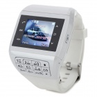 "Q5 GSM Watch Phone w/ 1.33"" Resistive Screen, Quad-Band, FM and Single-SIM - White"