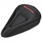 GIANT Bike Bicycle Silicone Seat Pad Saddle Cushion Cover - Black