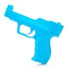 Vibrating Gun Pistol Controller for Wii - Blue