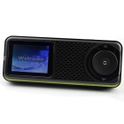 "Fulljoin NMP001 2.4"" LCD Portable Internet TV / Radio Multimedia AV Player w/ Wi-Fi / TF - Black"