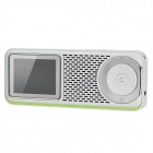 "Fulljoin NMP001 2.4"" LCD Portable Internet TV / Radio Multimedia AV Player w/ Wi-Fi / TF - White"