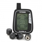 "Tyredog TD1000A-X 2.7"" LCD Wireless Tire Pressure Monitor System - Black"
