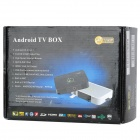 GV-17 Android 4.0 Google TV Player w/ Wi-Fi / 2.0MP Camera / 1GB RAM / 4GB ROM / MIC - Grey + White