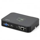 GV-17 Android 4.0 Google TV Player w/ Wi-Fi / 2.0MP Camera / 1GB RAM / 4GB ROM / MIC - Black