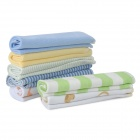 Gerber 142714 Soft Cotton Washcloth Set for Baby - Random Color (8 PCS)