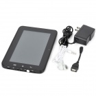 "QM768 7.0"" Android 4.0 Capacitive Screen Dual Core Tablet PC w/ SIM / GPS / Wi-Fi / Camera - Black"