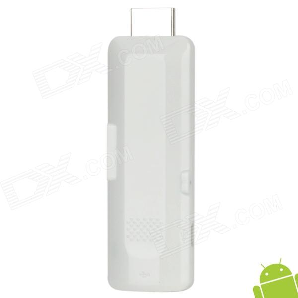 MINI-TD01-BAISE Android 4.0 Dual Core Google TV Player w/ Wi-Fi / 1GB RAM / 4GB ROM - White