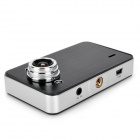 "X60 2.7"" CMOS TFT 3.0MP Dual-Lenses Car DVR Camcorder w/ G-Sensor / 2-LED Night Version / AV-IN / TF"