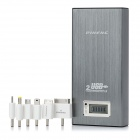 PINENG PN-912 16800mAh Emergency Mobile Power Bank Charger for iPhone 4 / 4S / Samsung - Deep Grey