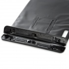 WP-280 Waterproof Dry Bag Case w/ Carabiner + Adjustable Strap for Ipad - Black