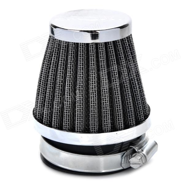 Mushroom Head Style Stainless Steel Motorcycle Air Filter for ATV / Off-Road - Silver + Black (54mm) зарядное устройство для акб вымпел 27