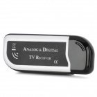 MN01 USB 2.0 DVB-T and Analog TV Receiver w/ Antenna / Remote Control - Black + White