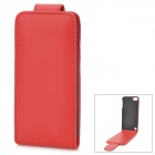 Stylish Protective Flip-Open PU Leather Case for Ipod Touch 5 - Red