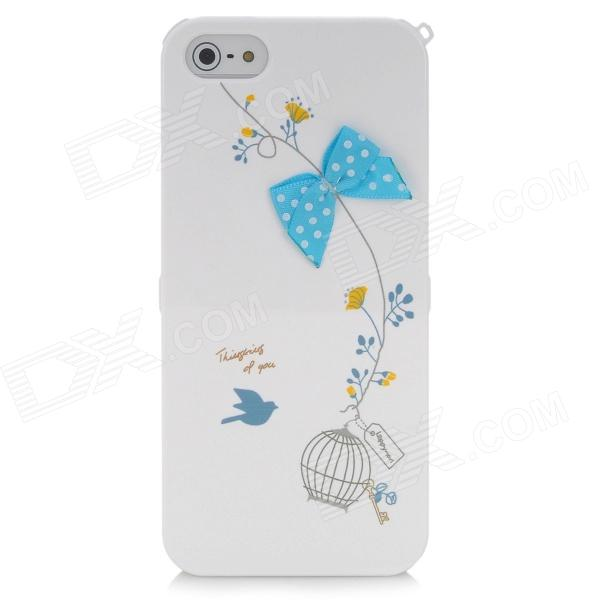 Happymori Protective Silicone Case for Iphone 5 - White
