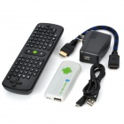 UG007+RC11 Android 4.1.1 Dual Core Google TV Player w/ Wi-Fi / Bluetooth / 1GB RAM / 8GB ROM - White