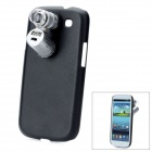 3-LED Illumination 60X Microscope w/ Currency Detection / Protective Back Case for Samsung i9300