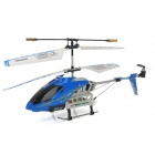 MD757 Android Phones / iPhone-Steuerung 3,5-CH IR Remote Control R / C Helicopter - Blau + Weiß
