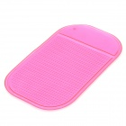 Slipping Resistant Silicone Pad for Cell Phone - Deep Pink