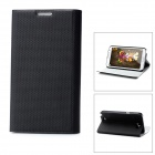 Wallet Style Protective PU Leather Case for Samsung N7100 Galaxy Note 2 - Black