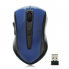 G-180 2.4GHz 1000 / 1200 / 1600DPI Wireless Optical Mouse w/ USB Receiver - Deep Blue + Black