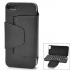 Bluetooth V3.0 49-Key Keyboard Case for Iphone 5 - Black