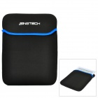 "Protective Soft Pouch Bag for 10"" Tablet PC - Black + Blue"