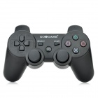 GOiGAME Dual-Shock Bluetooth v3.0 Wireless Game Joypad Controller w/ USB for PS3 - Black + White