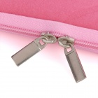 "Android Robot Pattern Protective Lint Cloth Bag Pouch for Samsung N800 / 10.1"" Tablet PC - Pink"