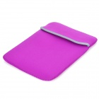 "Protective Soft Bag Pouch for 10.1"" Tablet PC - Purple + Deep Grey"